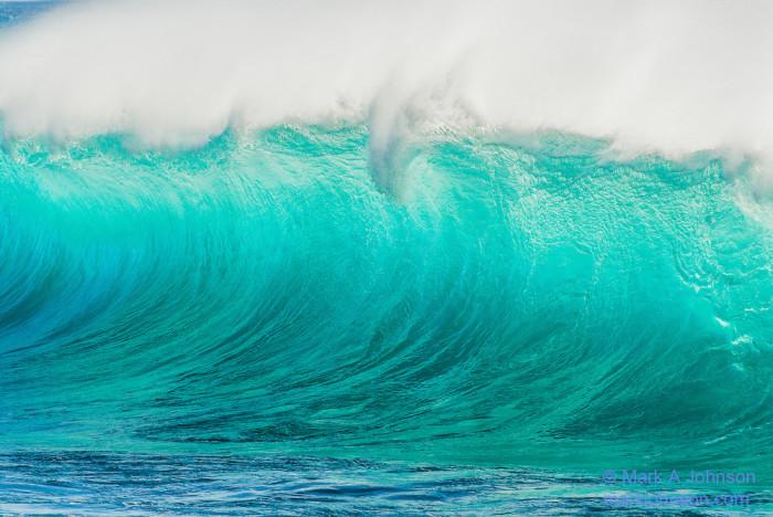 Wave, Oahu, Hawaii