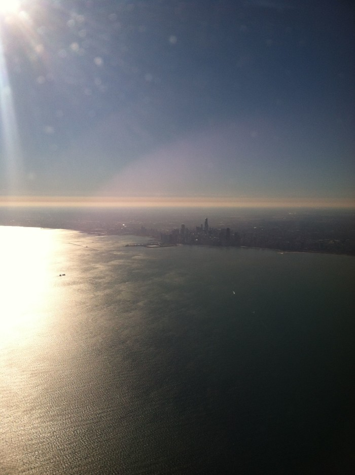 Aerial View of Chicago 1
