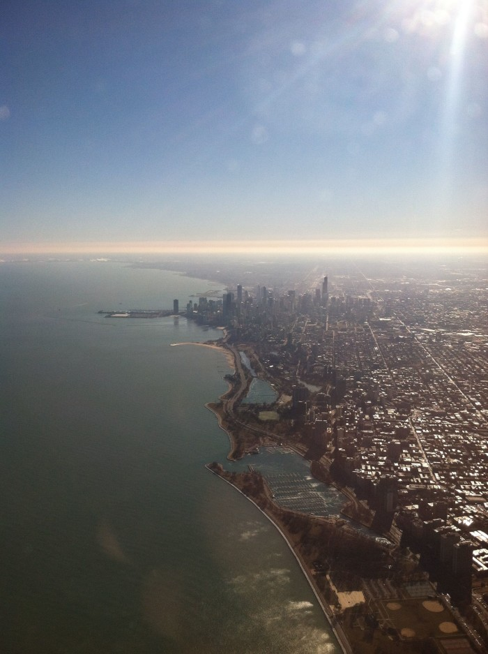 Aerial View of Chicago 2