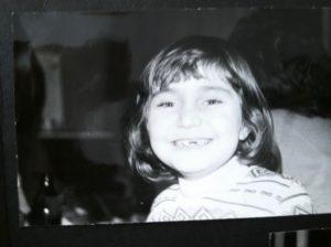 Mirakelley as a Kid